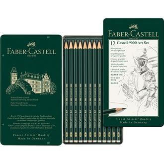 Faber-Castell - Art set μολυβιών CASTELL 9000